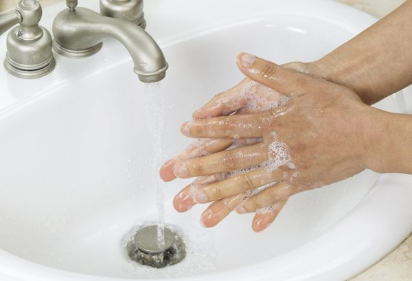 <strong>Why it's false:</strong> We've all learned that washing your hands in warm water is best for fighting germs, and taug