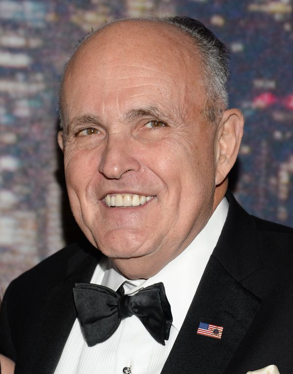 The former Mayor of New York City from 1994 to 2001, Rudolph Giuliani is known for taking a tough stance on crime—and a very