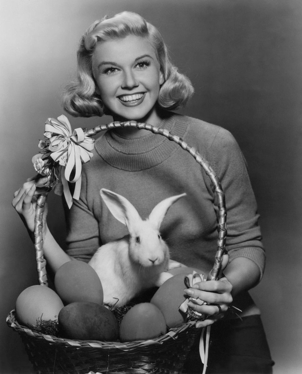 Apparently a lot of celebrities -- including Doris Day -- have loved Easter.