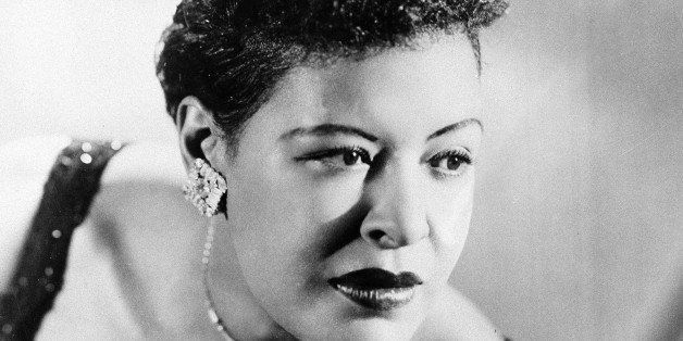 Jazz singer Billie Holiday is seen in this September 1958 photograph. (AP Photo )