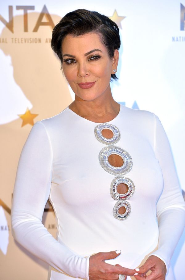 """Kind of like Goldie, grandmother of four Kris Jenner prefers to stay away from the grandma moniker. """"At first I was Grandma,"""