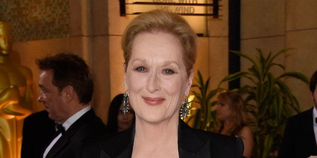 HOLLYWOOD, CA - FEBRUARY 22:  Actress Meryl Streep attends the 87th Annual Academy Awards at Hollywood & Highland Center on F