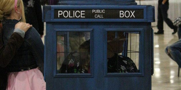 In the last season of Dr. Who it was reviled that the TARDIS is a women and in love with the Doctor!   these ladies take the