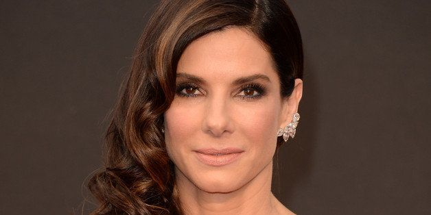 HOLLYWOOD, CA - MARCH 02:  Actress Sandra Bullock attends the Oscars held at Hollywood & Highland Center on March 2, 2014 in