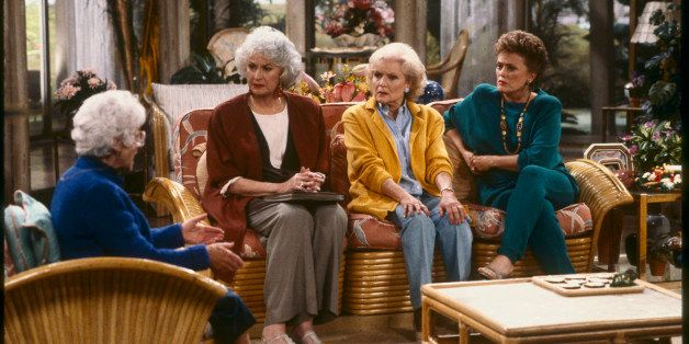 UNITED STATES - MAY 28:  THE GOLDEN GIRLS - 9/24/85 - 9/24/92, ESTELLE GETTY, BEA ARTHUR, BETTY WHITE, RUE MCCLANAHAN,  (Phot