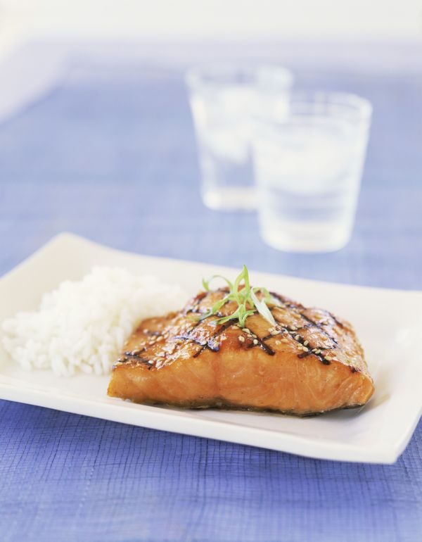 """<strong>Salmon</strong> - Who would cook salmon in a dishwasher? Oprah did. <a href=""""http://www.oprah.com/food/Lunch-Cooked-i"""
