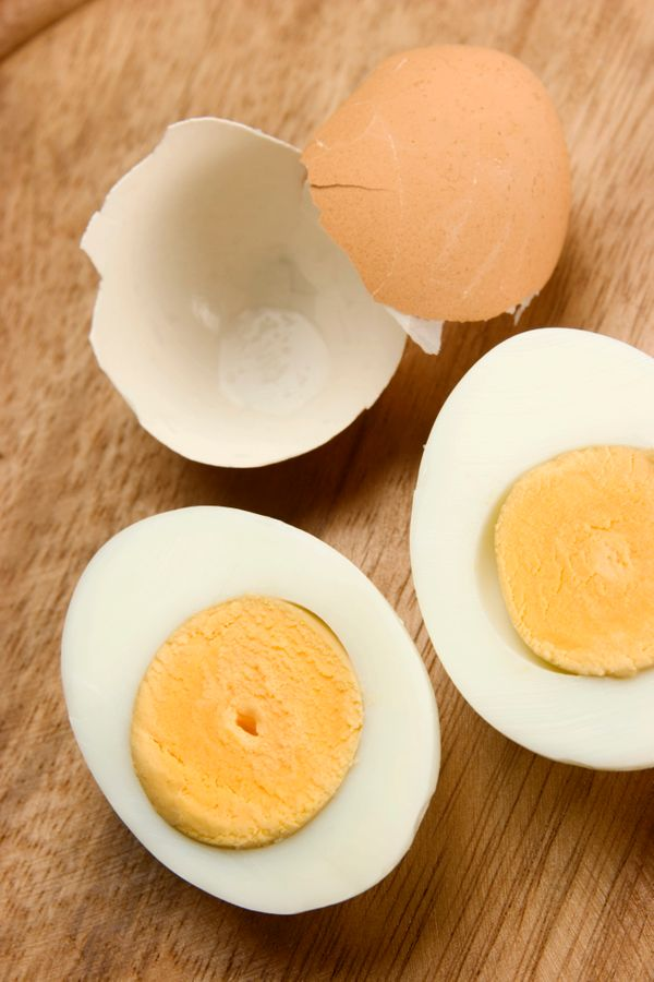 <strong>Hard-Boiled Eggs</strong> - The burner on a coffee maker gets as hot as 200 degrees Fahrenheit, just 12 degrees short