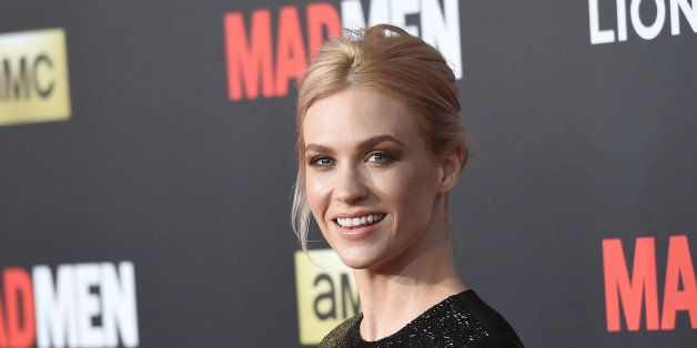 LOS ANGELES, CA - MARCH 25:  Actress January Jones attends the AMC celebration of the final 7 episodes of 'Mad Men' with the