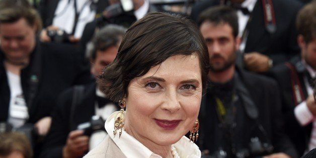 Italian actress and director and President of the Un Certain Regard Jury Isabella Rossellini poses as she arrives for the scr