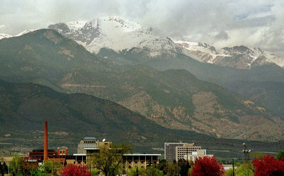 Colorado Springs, which offers low taxes and high quality healthcare, is situated near the base of Pikes Peak.