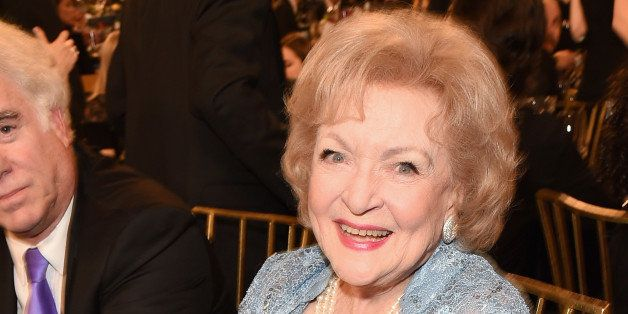 BEVERLY HILLS, CA - APRIL 11:  Actress Betty White attends the 2015 TV Land Awards at Saban Theatre on April 11, 2015 in Beve