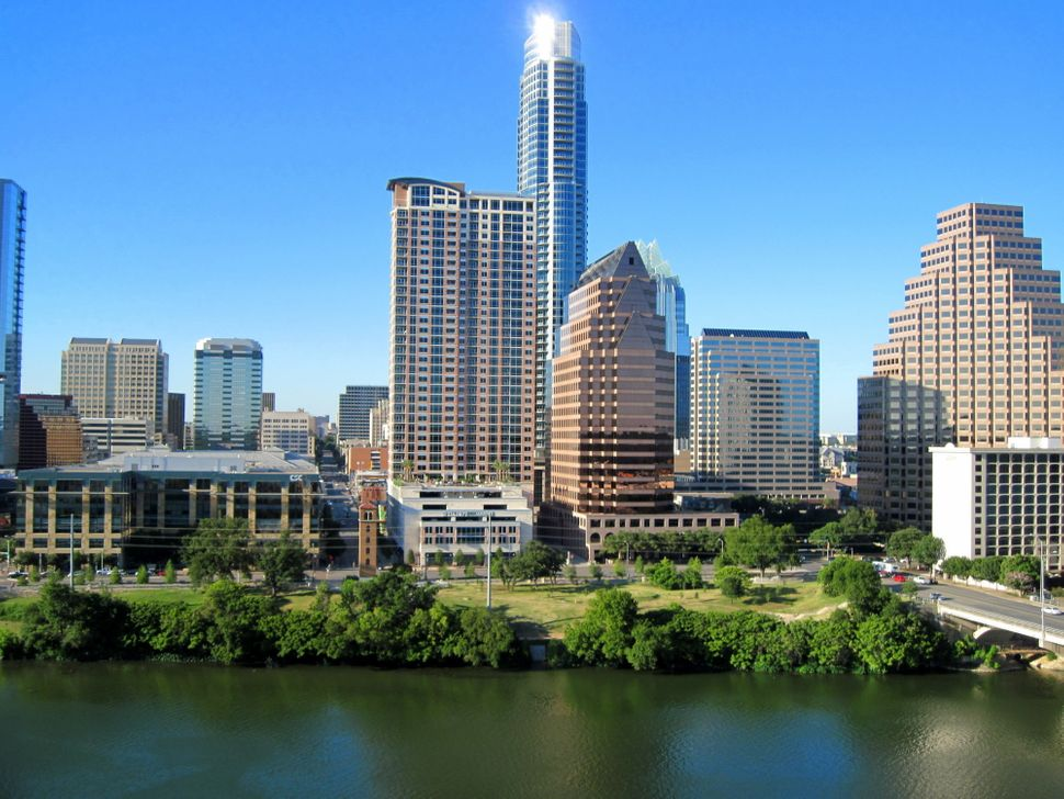 """Known for its pleasant climate, Austin is not only the state capital, but it also bills itself as the """"live music capital of"""