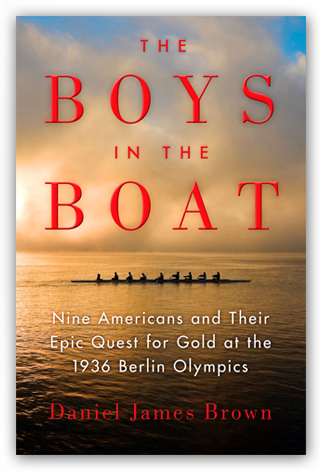 """This riveting tale of beating the odds (and the Germans) at the 1936 Olympics is a rousing story of American can-do-ism. It'"