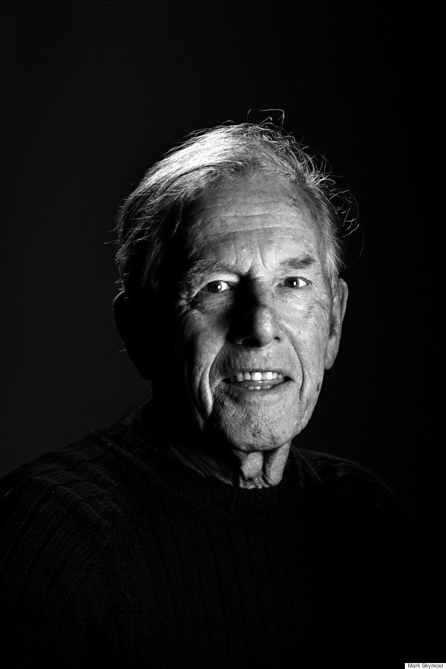 A portrait of Ronnie in 2008, prior to his diagnosis.