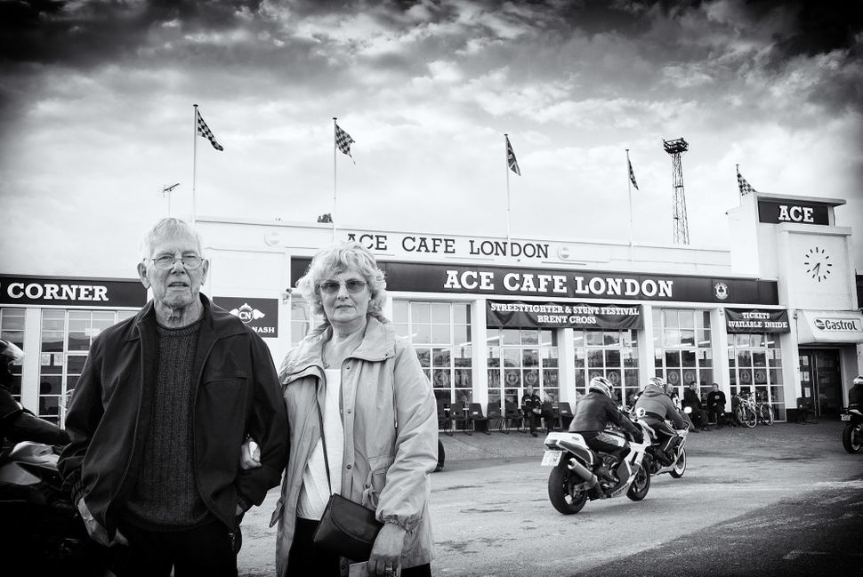 Ronnie and his wife Winnie in June 2012.