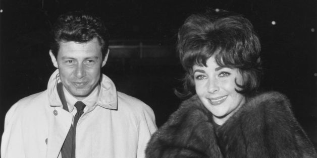 23rd December 1960:  Elizabeth Taylor and husband Eddie Fisher.  (Photo by A. Jones/Evening Standard/Getty Images)