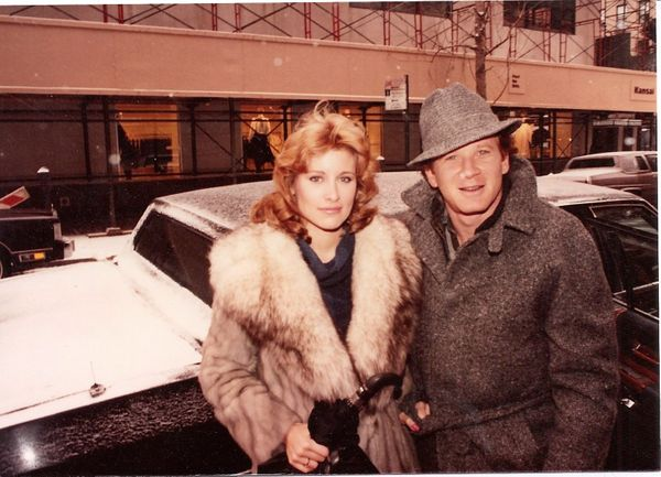 Don Most and his wife, Morgan Hart.