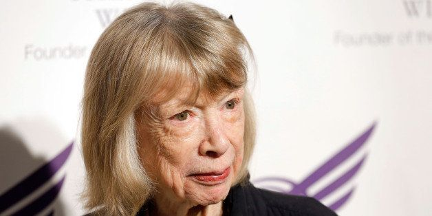 NEW YORK, NY - SEPTEMBER 24:  Joan Didion attends The American Theatre Wing's 2012 Annual Gala at The Plaza Hotel on Septembe