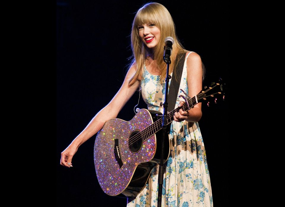 At 14, Taylor Swift moved to Nashville with a guitar and a big dream. Eight years later, she's a singer-songwriter with three
