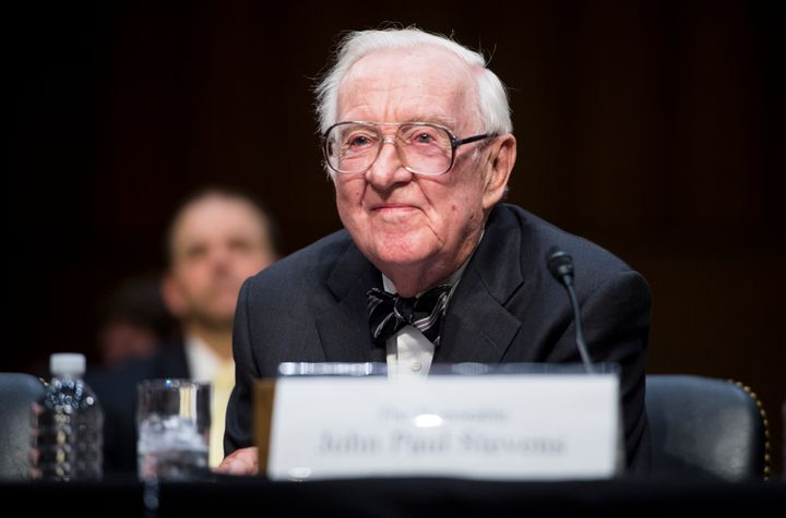 Retired Supreme Court Justice John Paul Stevens said he opposes Brett Kavanaugh's nomination.