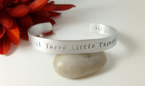 "For the romantic Directioner, this <a href=""http://www.etsy.com/listing/113815361/one-direction-all-these-little-things?ref=s"