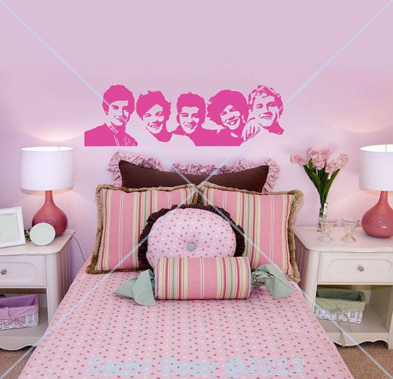 "Your friend will love to have the 1D boys watching over her as she sleeps. This <a href=""http://www.etsy.com/listing/10891316"
