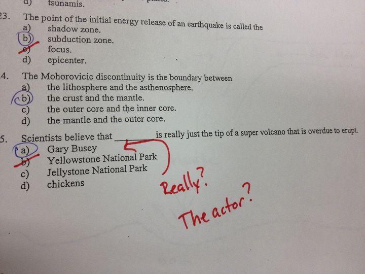 Exam Fails: Teacher Posts Hilarious Exam Answer On Reddit