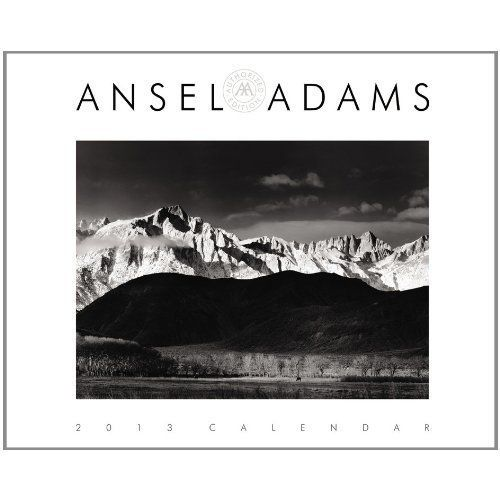 A wall calendar with black and white photography by Ansel Adams is an elegant choice. It's almost like buying your parents ar