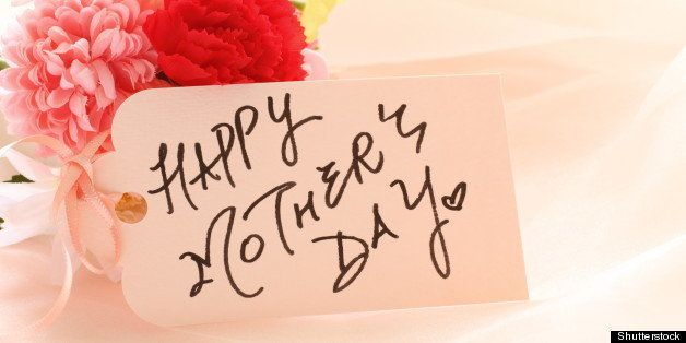 hand written mother's day card...