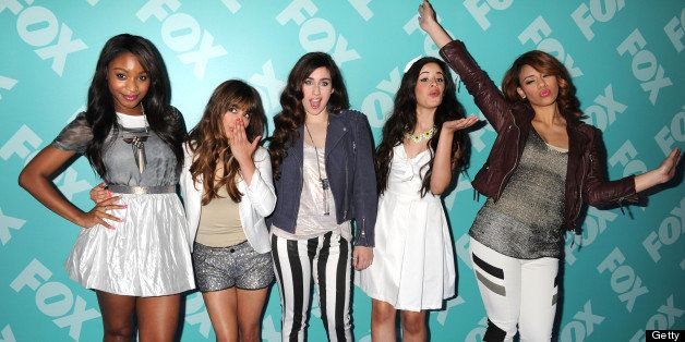 NEW YORK, NY - MAY 13:  Music group Fifth Harmony attends the FOX 2103 Programming Presentation Post-Party at Wollman Rink in