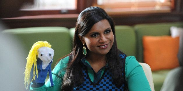 THE MINDY PROJECT -- 'Mindy's Minute' Episode 115 -- Pictured: (l-r) Mindy Kaling as Mindy -- (Photo by: Beth Dubber/NBC/NBCU