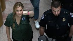Amy Schumer Detained At 'Cancel Kavanaugh'