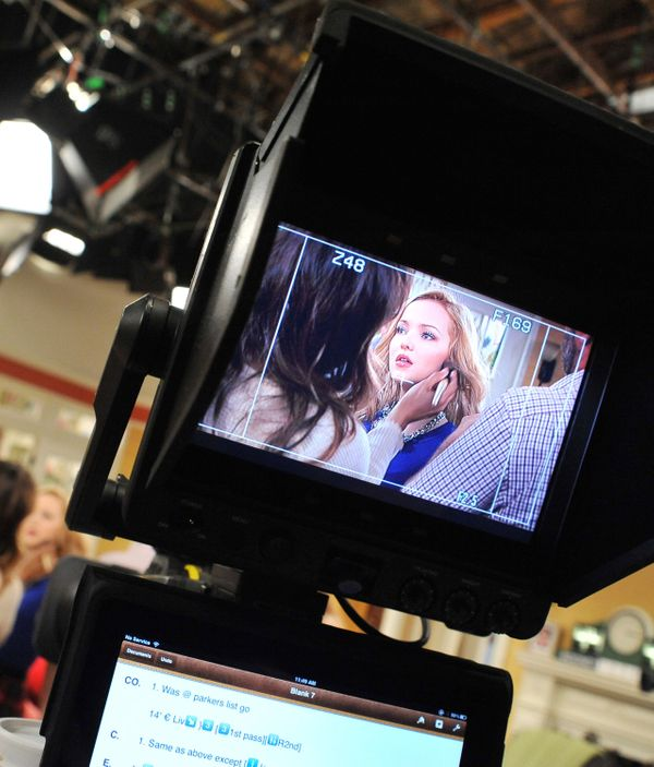 Behind-The-Scenes Look At The Disney Channel's 'Liv And