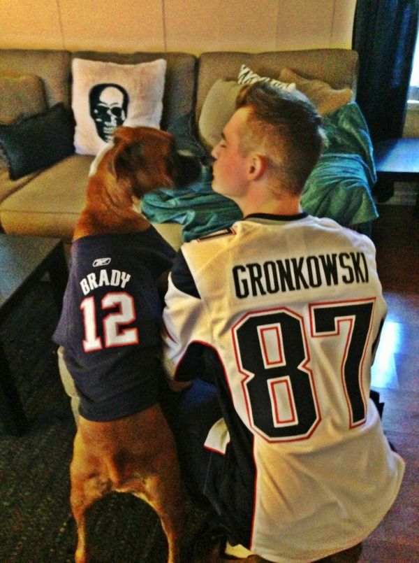 I'm thankful for my best friend and fellow Patriots fan, Kennedy.