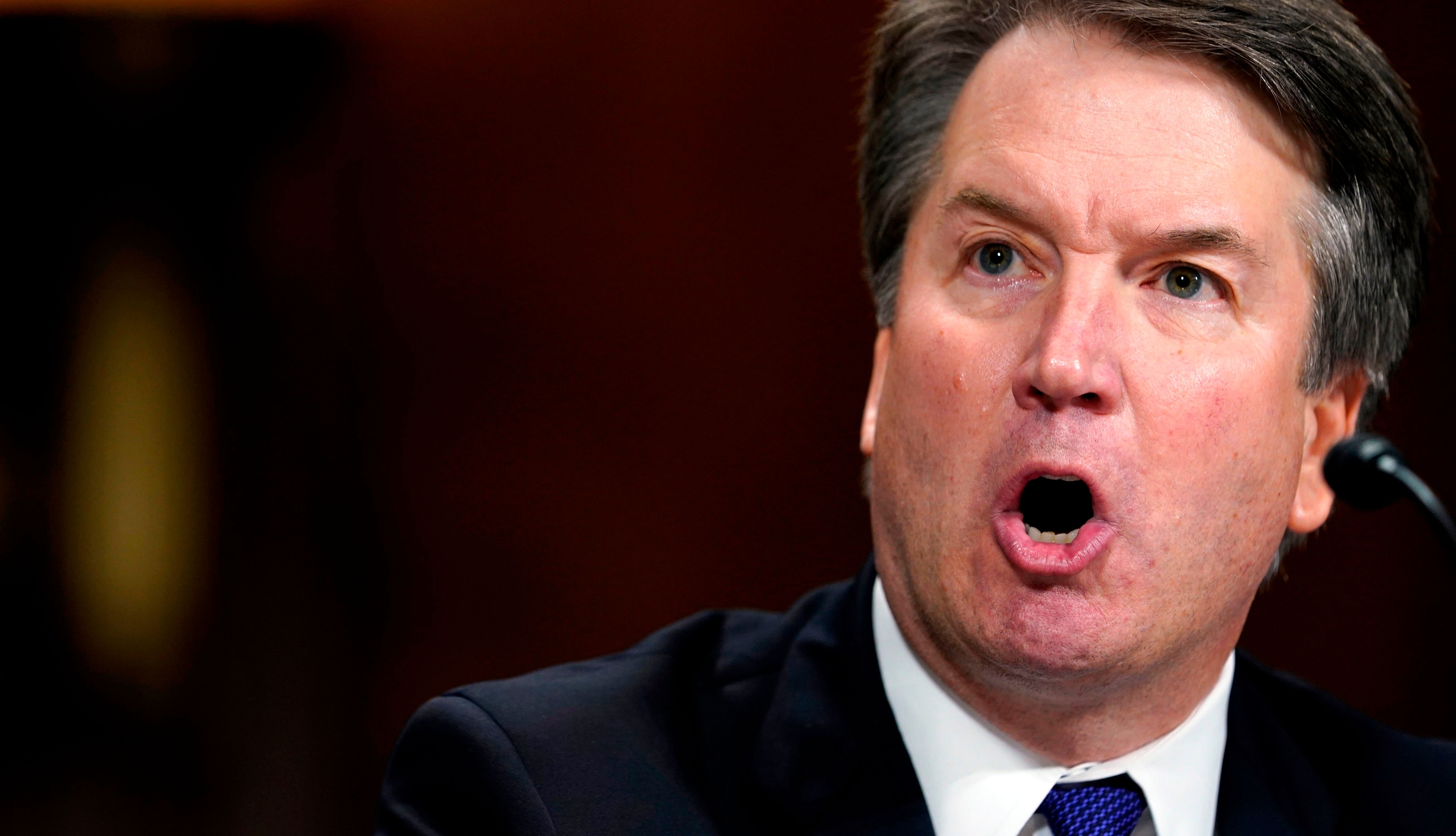 The FBI reached out to 10 people during its dayslong investigation into sexual misconduct allegations against Supreme Court n