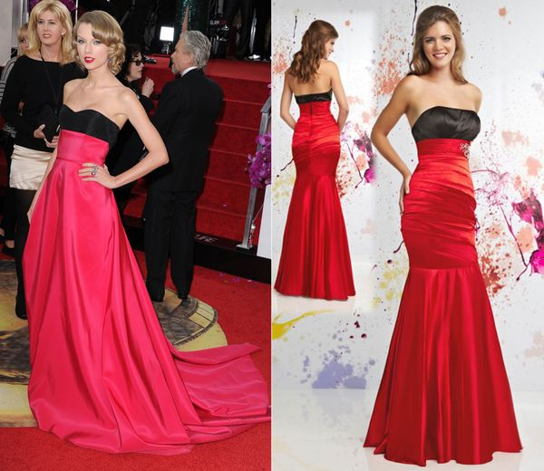 """<em><a href=""""http://www.hibridal.com/prom/1467-2011-hot-red-and-black-scoop-fitted-mermaid-prom-dresses.html"""" target=""""_blank"""""""