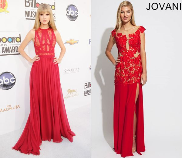 "SPLURGE ITEM: <em><a href=""http://www.graduationdresses2014.com/jovani-77654-p-4177.html"" target=""_blank"">Buy it: Graduationd"