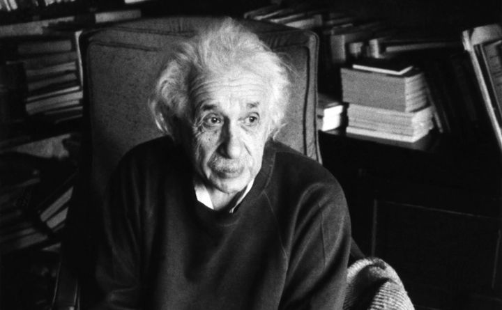 """Einstein,who was born into asecular Jewish family, came to embrace what he called a """"cosmic religion"""""""
