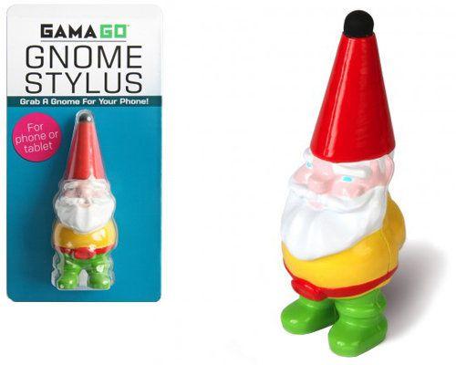 "<em><a href=""http://www.perpetualkid.com/gnome-stylus.aspx"" target=""_hplink"">Perpetual Kid</a>, $9.99</em>  <br>This stylus m"