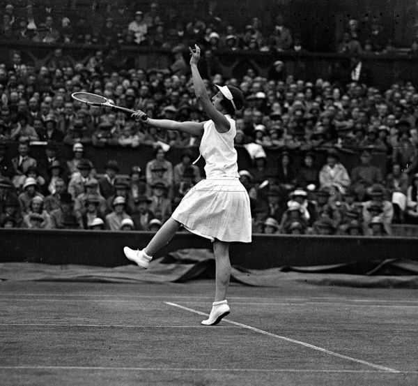 "Wills, an American tennis player, took home gold medals in <a href=""http://www.nytimes.com/1998/01/03/sports/helen-wills-mood"
