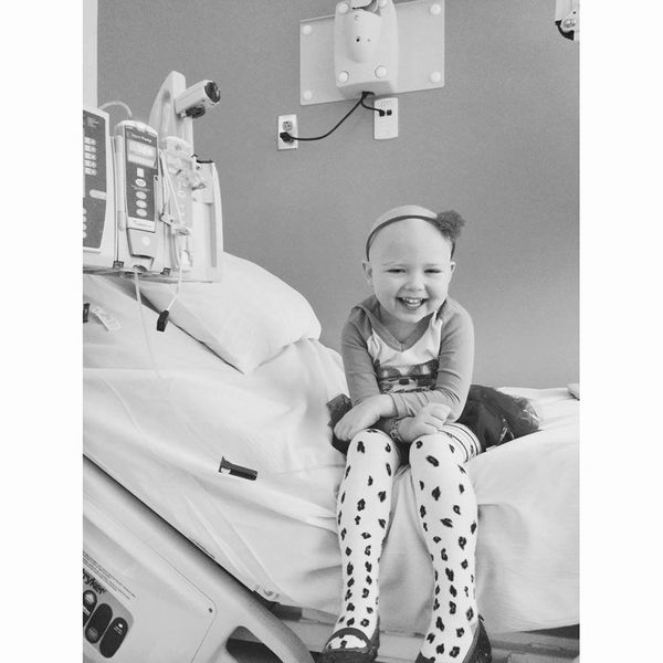 This is my daughter Kasydi. She was diagnosed with ALL last year on July 15th at just 3 years old. <em><strong>It took two mo