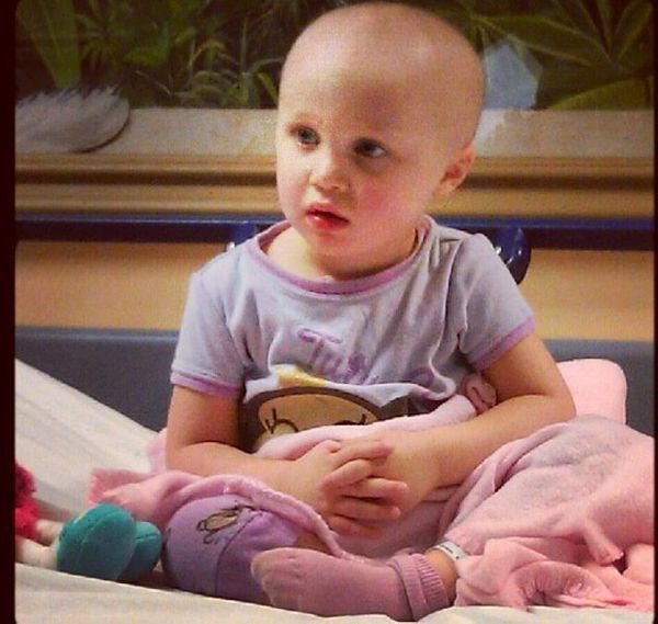Almost three years ago, my (then) 3-year-old daughter was diagnosed with acute lymphoblastic leukemia. It was caught through