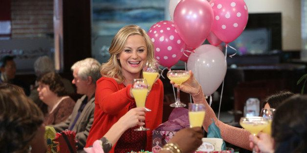PARKS AND RECREATION -- 'Galentine's Day' Episode 617 -- Pictured: Amy Poehler as Leslie Knope -- (Photo by: Danny Feld/NBC/N
