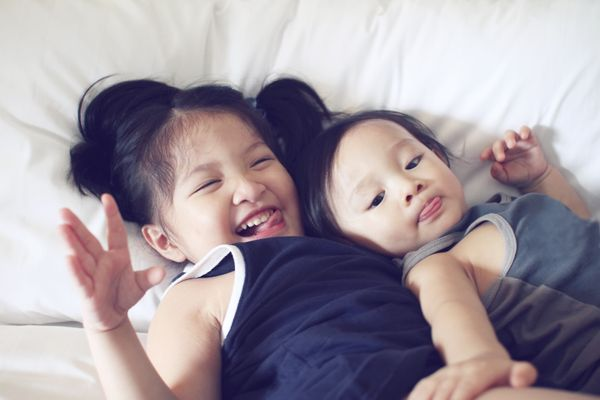 Growing up, you took care of your younger siblings. Now that you're older, they'll help you take care of your kids.