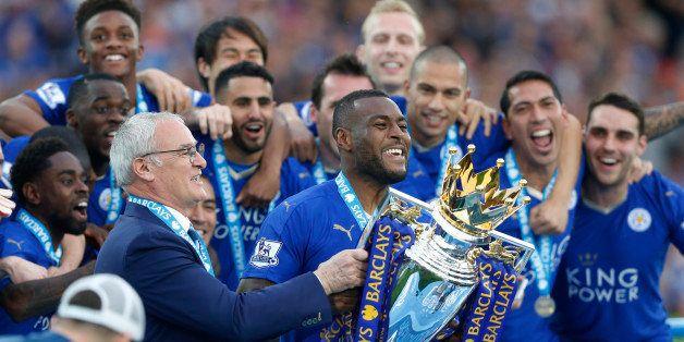 Britain Soccer Football - Leicester City v Everton - Barclays Premier League - King Power Stadium - 7/5/16 Leicester City's