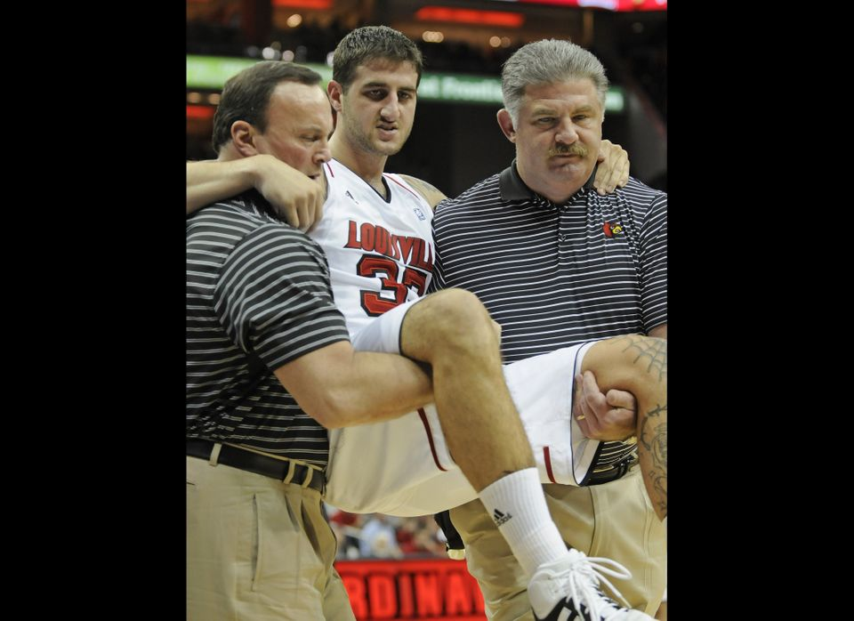 "In just their second game of the season, Louisville lost junior guard Mike Marra for the season after <a href=""http://espn.go"