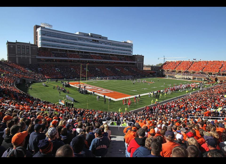 Home of the Illinois Fighting Illini (Photo by Jonathan Daniel/Getty Images)