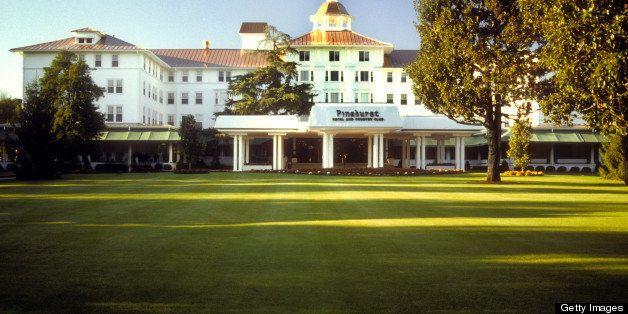 Pinehurst Country Club in Pinehurst, North Carolina, USA