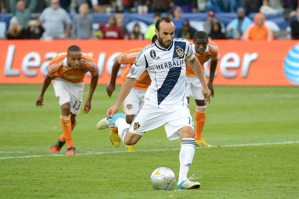 """""""It's not necessarily one thing I do. I think it's an <a href=""""http://www.huffingtonpost.com/2013/05/16/landon-donovan-us-nat"""