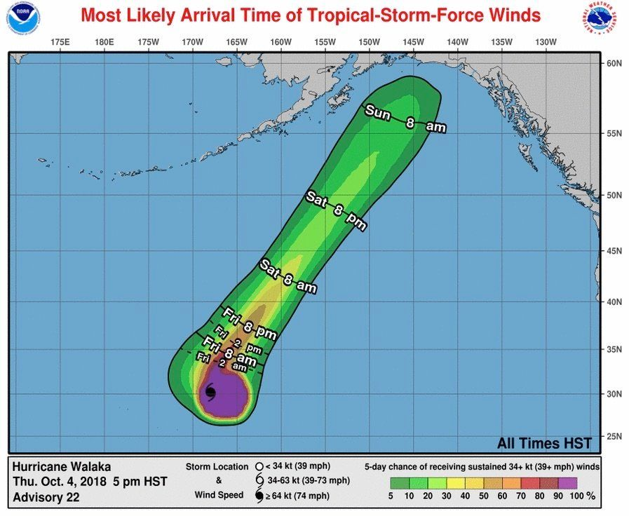 100% Chance Of Penis In Latest NOAA Hurricane Walaka